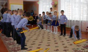 Спортивный праздник на 23 февраля в подготовительной группе детского сада