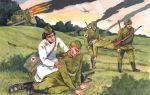 Железников. девушка в военном