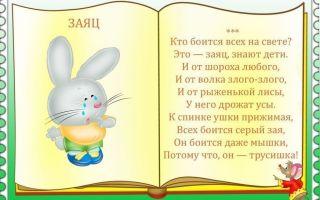 Стихи для дошкольников