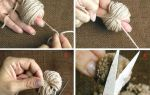 Как сделать помпон из ниток своими руками пошагово с фото