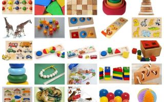 Развивающие игры для детей от 2 лет