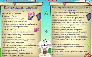 Советы для родителей