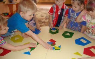 Конспект математической игры во второй младшей группе