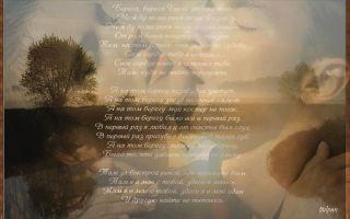 Воробьев «на тот берег» текст распечатать