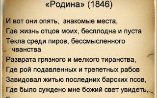 Некрасов «родина» стихотворение читать