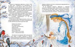 Зимние сказки для детей 5-6-7 лет читать
