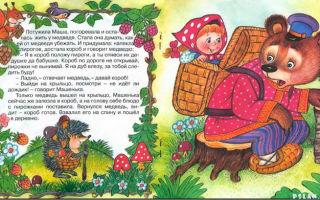 Маша и медведь. русская народная сказка читать