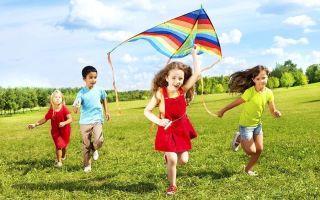 Летние игры для детей на улице