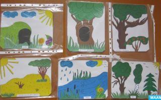 Экологические игры в детском саду в подготовительной группе