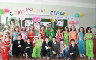 Семейный праздник ко дню семьи в начальной школе, 4 класс. сценарий