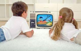 Ребенок и телевизор. что и сколько смотреть