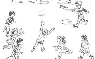 Весенние подвижные игры для школьников 1-2 класса