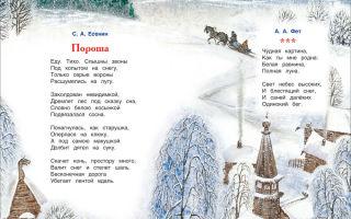 Стихи о природе русских поэтов для детей 3 класса