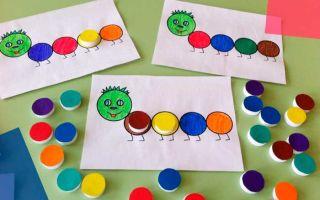 Развивающие игры для детей 2, 3 лет