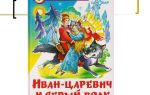 Сказка «иван-царевич и серый волк» читать