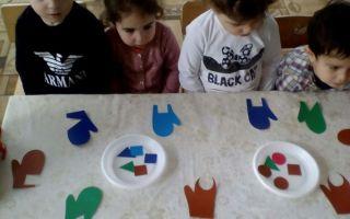 Конспект занятия по фэмп в детском саду во второй младшей группе. тема: «большой — маленький»