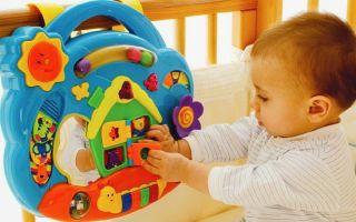 Развивающие игры для ребёнка от 4,5 до 6 месяцев